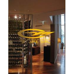不锈钢酒柜|酒柜酒架(在线咨询)|恒温不锈钢酒柜图片