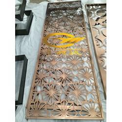 金属花格屏风(多图)、不锈钢镂空雕花、不锈钢镂空图片