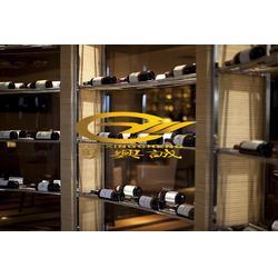 恒湿不锈钢酒柜、乌兰察布不锈钢酒柜、屏风设计图片