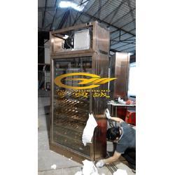 恒温酒柜-不锈钢酒柜-欧式不锈钢酒柜定制图片