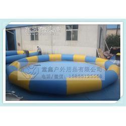 厂家直销大型充气游泳池广场充气水池儿童探险设备图片