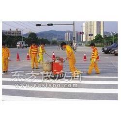 马路划线公司、热熔标线施工队图片