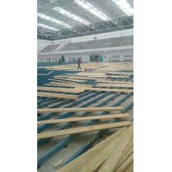 枫木运动木地板及安装图片