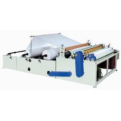 卫生纸复卷机报价、泓基机械、卫生纸复卷机图片