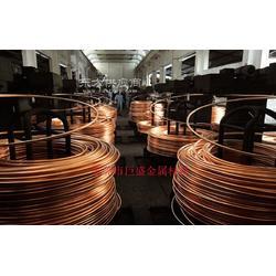 巨盛专业生产红铜铆料线 焊枪紫铜导电嘴用紫铜线材 质量保证图片