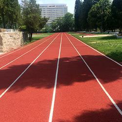预制式塑胶跑道,南平塑胶跑道,恒辉体育设施图片