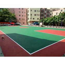 硅pu球场、硅pu羽毛球场、恒辉体育设施(多图)图片