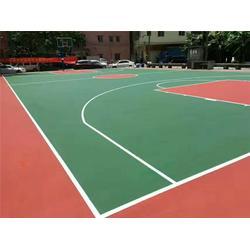 东莞硅PU球场、恒辉体育设施、硅PU羽毛球场图片