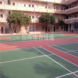 恒辉体育设施(多图)_丙烯酸涂料_丙烯酸球场图片