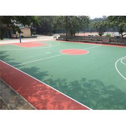 恒辉体育设施(图),户外硅pu排球场原料,龙岩硅pu球场施工图片