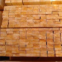 岚山中林木材加工厂(图)、铁杉建筑口料直销、铁杉建筑口料图片