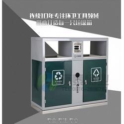 分类钢制垃圾桶、钢制垃圾箱(在线咨询)、中卫钢制垃圾桶图片