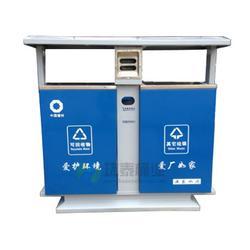 环泰桶业(图)_双面投递口钢制垃圾桶_曲靖钢制垃圾桶图片