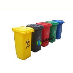 四色分类塑料垃圾桶、可克达拉塑料垃圾桶、环泰塑料垃圾桶图片