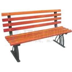 带靠背防腐木室外景区休闲户外椅,西宁户外椅,环泰桶业图片