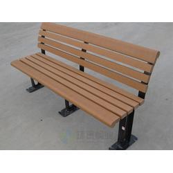 无靠背防腐木加厚室外休闲户外椅、绵竹户外椅、环泰桶业图片