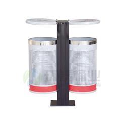 方形分类冲孔钢制垃圾桶,拉萨钢制垃圾桶,环泰桶业图片