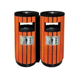 德澜仕电解分类钢木垃圾桶_凯里钢木垃圾桶_钢木垃圾箱(查看)图片