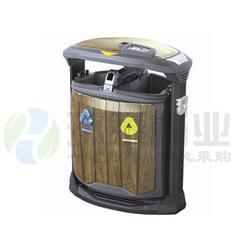 不锈钢包边分类钢木垃圾桶价|日喀则钢木垃圾桶|钢木垃圾箱图片