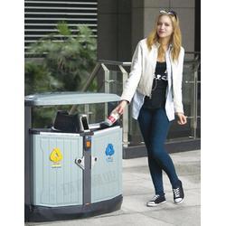 环泰桶业(图)、遂宁   钢制垃圾桶公司、都江堰钢制垃圾桶图片