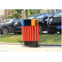 和田鋼木垃圾桶、環泰桶業、鋼木垃圾桶公司圖片