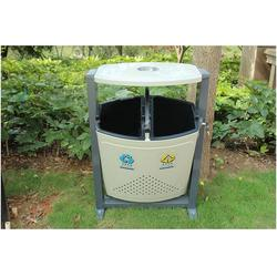 室外钢制垃圾桶,华阴钢制垃圾桶,环泰桶业图片