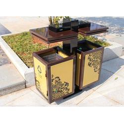 呼和浩特钢制垃圾桶-钢制垃圾箱-户外分类钢制垃圾桶图片