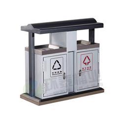 呼和浩特钢制垃圾桶_环泰桶业_道路钢制垃圾桶图片