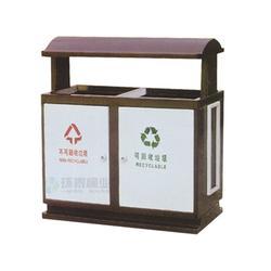 街道分类钢制垃圾桶|赤峰钢制垃圾桶|环泰桶业(图)图片