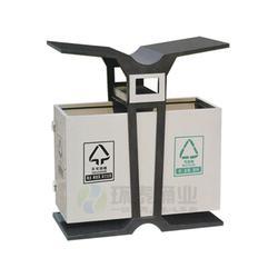 宣威钢制垃圾桶、学校分类钢制垃圾桶、环泰桶业图片
