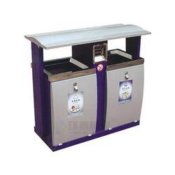 庆阳分类钢制垃圾桶|分类钢制垃圾箱|社区分类钢制垃圾桶图片