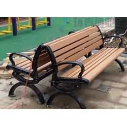 凭祥公园椅|环泰桶业|景区无靠背南方松防腐木公园椅图片