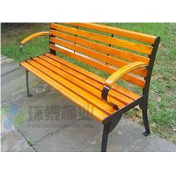 山南公园椅,环泰桶业,社区带靠背pvc塑木园林公园椅图片