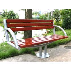 天门公园椅,带靠背pvc塑木园林公园椅,环泰桶业(多图)图片