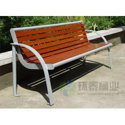北安公园椅、环泰桶业、带靠背防腐木园林公园椅图片