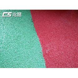 沧晟陶瓷颗粒厂家|漳州防滑路面|陶瓷颗粒防滑路面车道图片