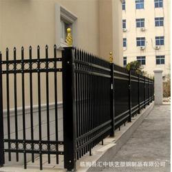 山东锌钢护栏、汇中铁艺塑钢制品(在线咨询)、优质锌钢护栏图片