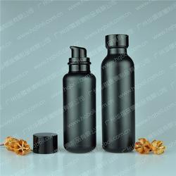 喷涂化妆品玻璃瓶套装 化妆品玻璃瓶套装 华祺玻璃专业制作图片