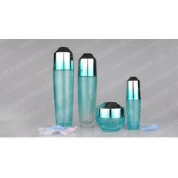 透明护肤套装玻璃瓶厂家|华祺玻璃|护肤套装玻璃瓶图片