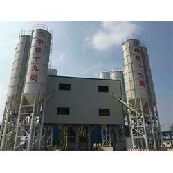 二手600吨混凝土搅拌站_青海搅拌站_宇洋工程图片