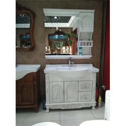 红橡浴室柜,港姿洁具,红橡浴室柜图片