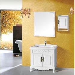 实木浴室柜优点、港姿洁具(在线咨询)、实木浴室柜图片