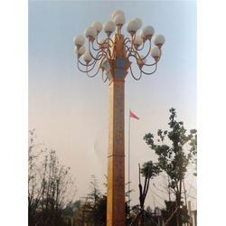 芜湖灯杆-希科环保-方形灯杆图片