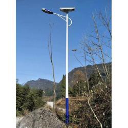 济南太阳能路灯灯杆-希科节能-太阳能路灯灯杆图片