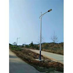 单弯臂路灯灯杆生产,希科节能,路灯灯杆图片