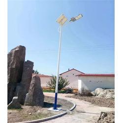 希科节能 双灯太阳能路灯-太阳能路灯图片