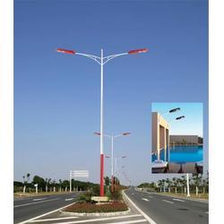9米双臂路灯灯杆-路灯灯杆-希科节能(查看)图片