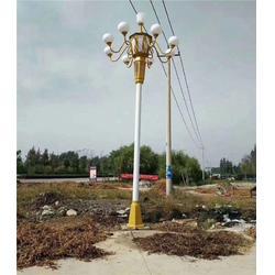 路灯灯杆-希科节能-挑臂路灯灯杆图片
