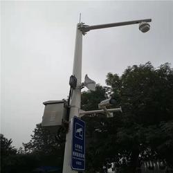 八角六米球机监控立杆-监控立杆-希科节能(查看)