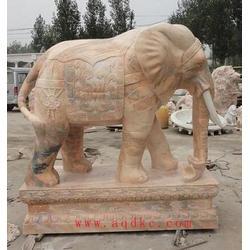 爱强石雕(图)、石雕大象的风水作用、辽宁石雕大象图片